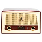 RD-1 – Retro Tabletop Radio w. DAB/RDS/Wireless/USB DAC